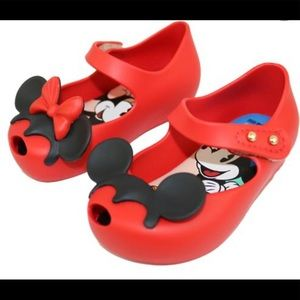 Mini Melissa Minnie Mouse Mary Jane shoes